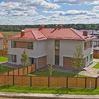 Недорогие готовые дома в Подмосковье. Крыло в триплексе КП