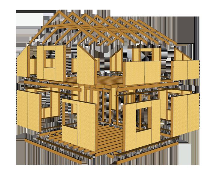 Схема панельного домокомплекта.