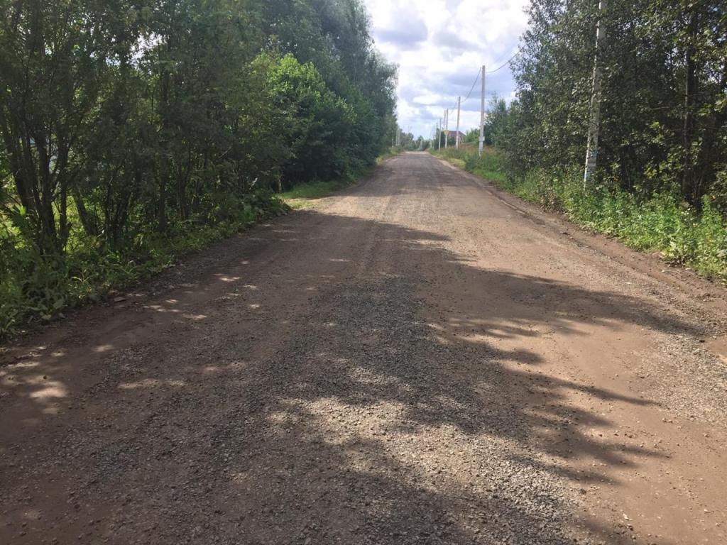 """ГБУ """"Мосавтодор"""" произвел частичный ремонт дороги до д.Костино"""