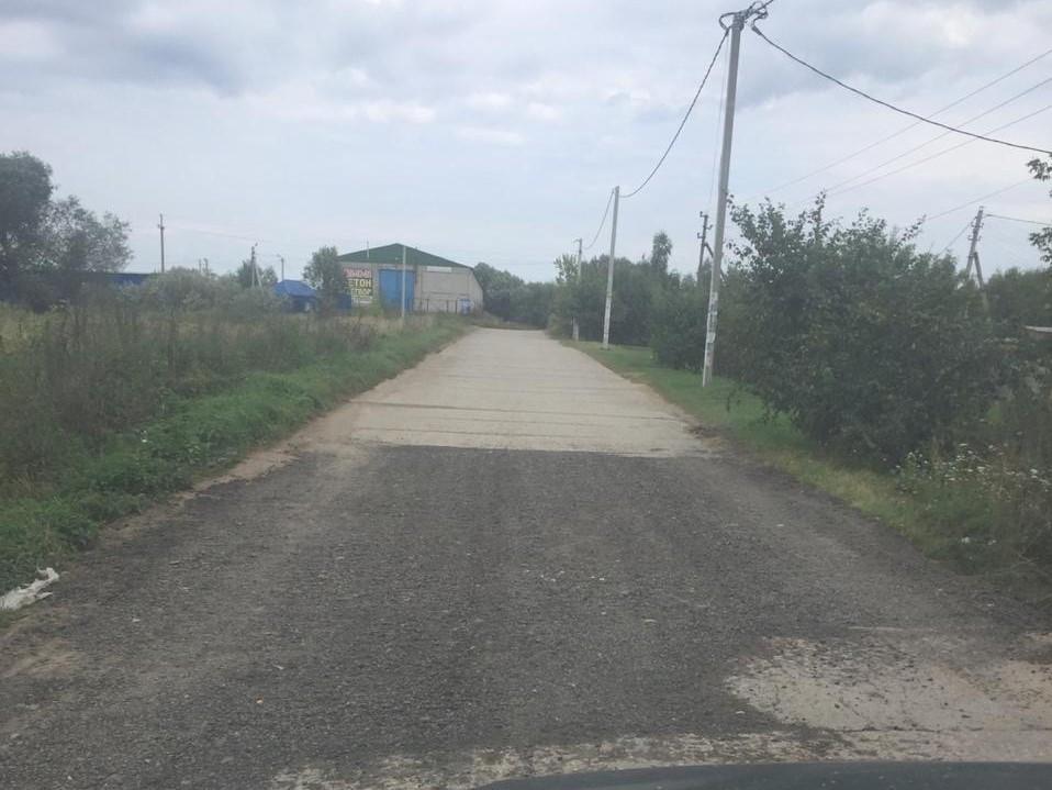 """ГБУ """"Мосавтодор"""" произвел частичный ремонт дороги у трассы М5 Урал"""