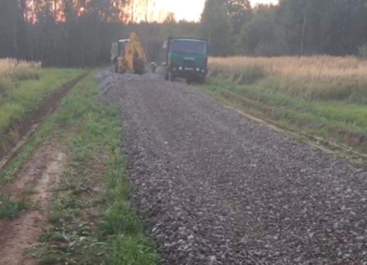 В КП «Рыболово парк-2» продолжается строительство дорог