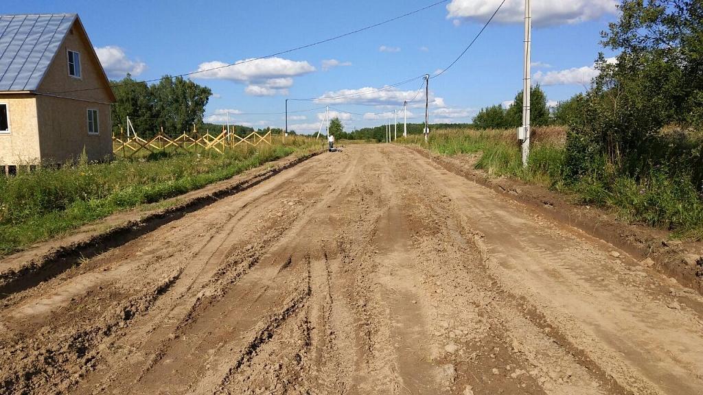 Началось строительство дорог в КП «Костинский лес»