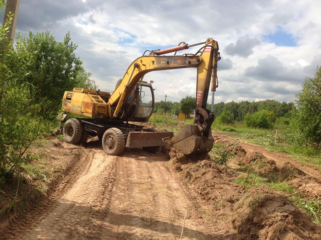 В поселке «Костинский лес» началось строительство дорог во 2 этапе