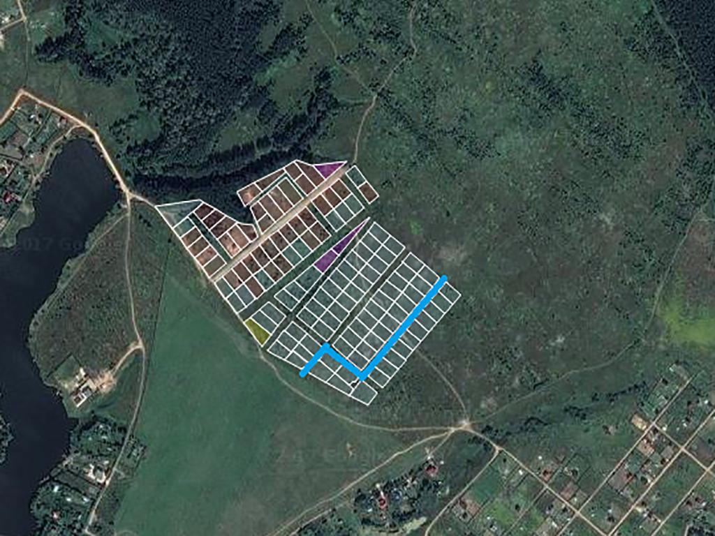 Продолжается строительство ЛЭП во втором этапе поселка «Костинский лес»